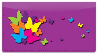 Click on Colorful Cascade Checkbook Cover For More Details