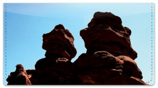 Click on Colorado Red Rocks Checkbook Cover For More Details