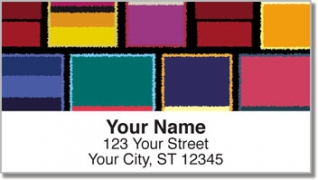 Click on Abstract Art Address Labels For More Details