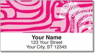 Click on Neon Animal Print Address Labels For More Details