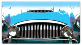 Click on Classic Car Checkbook Cover For More Details
