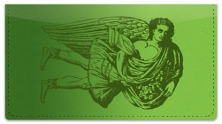 Click on Classic Angel Checkbook Cover For More Details