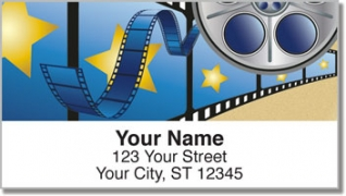 Click on Movie Night Address Labels For More Details