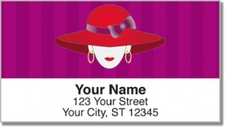 Click on Red Hat Address Labels For More Details
