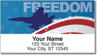 Click on Air Force Address Labels For More Details