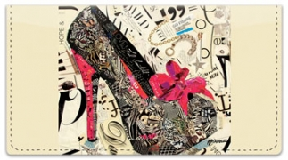 Click on High Heel Checkbook Cover For More Details