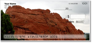 Click on Colorado Red Rocks Personal Checks For More Details