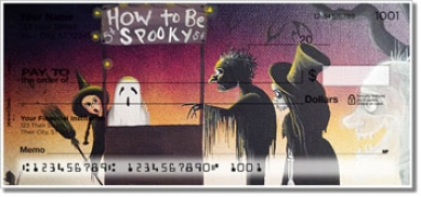 Click on Halloween Art Personal Checks For More Details