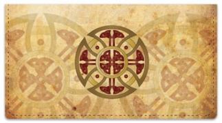 Click on Celtic Cross Checkbook Cover For More Details