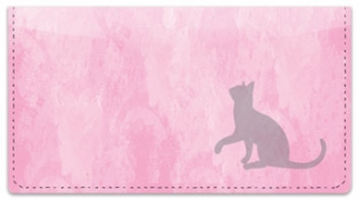 Click on Cat Silhouette Checkbook Cover For More Details