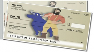 Click on American Folklore Side Tear Personal Checks For More Details