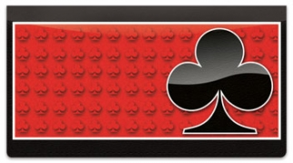 Click on Card Suit Checkbook Cover For More Details
