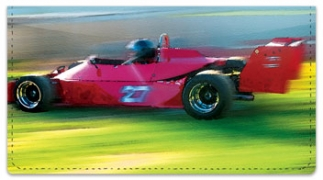 Click on Car Racing Checkbook Cover For More Details