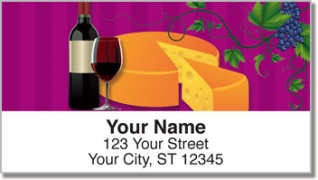 Click on Wine & Cheese Address Labels For More Details