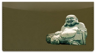 Click on Buddha Checkbook Cover For More Details