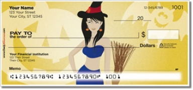 Click on Halloween Hottie Personal Checks For More Details