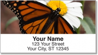 Click on Monarch Butterfly Address Labels For More Details