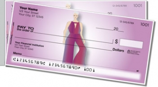 Click on Fashion Model Side Tear Personal Checks For More Details