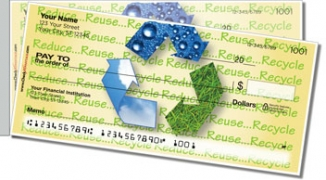Click on Green Living Side Tear Personal Checks For More Details