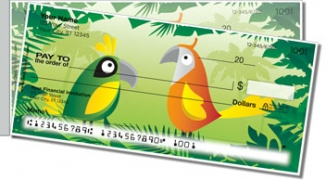 Click on Bird Paradise Side Tear Personal Checks For More Details