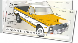 Click on Vintage Truck Side Tear Personal Checks For More Details