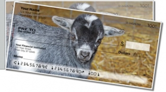 Click on Baby Goat Side Tear Personal Checks For More Details