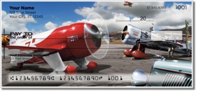Click on Grossman Airplane Personal Checks For More Details