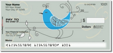 Click on Whimsical Bird Personal Checks For More Details