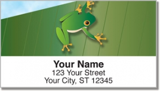 Click on Tree Frog Address Labels For More Details