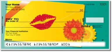 Click on Love Letter Personal Checks For More Details