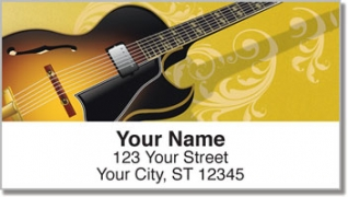 Click on Electric Guitar Address Labels For More Details