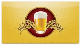Click on Beer Checkbook Cover For More Details