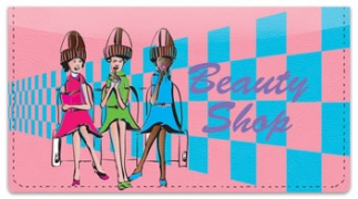 Click on Beauty Shop Checkbook Cover For More Details