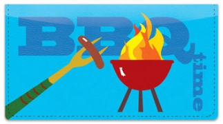 Click on BBQ Grilling Checkbook Cover For More Details