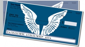 Click on Angel Wings Side Tear Personal Checks For More Details