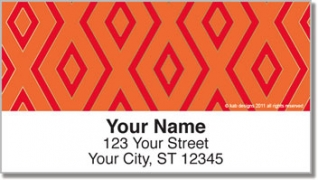 Click on 15 Diamond Row Address Labels For More Details
