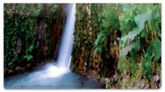 Click on Artistic Waterfall Checkbook Cover For More Details