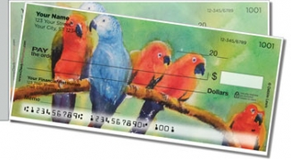 Click on Animal Set Side Tear Personal Checks For More Details