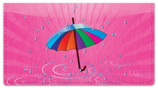 Click on April Shower Checkbook Cover For More Details