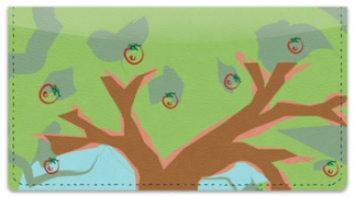 Click on Apple Tree Art Checkbook Cover For More Details