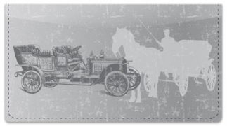 Click on Antique Automobile Checkbook Cover For More Details