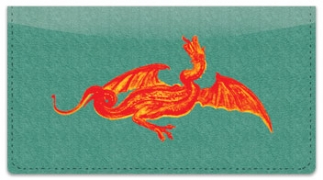 Click on Ancient Dragon Checkbook Cover For More Details