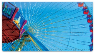 Click on Amusement Park Checkbook Cover For More Details