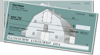 Click on Barn Style Side Tear Personal Checks For More Details