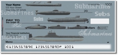 Click on Submarine Personal Checks For More Details