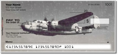 Click on Vintage WWII Aircraft Personal Checks For More Details