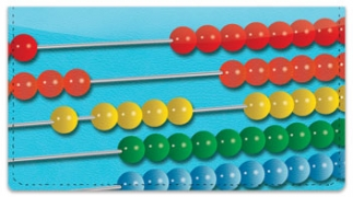 Click on Abacus Checkbook Cover For More Details