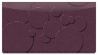 Click on 3D Shape Checkbook Cover For More Details