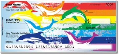 Click on Rainbow Dolphin Personal Checks For More Details