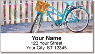 Click on Bicycle Art Address Labels For More Details